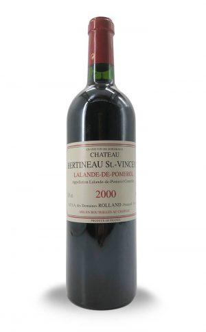 Chateau Bertineau St Vincent Lalande Pomerol 2000