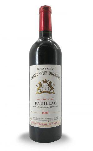 Chateau Grand Puy Ducasse Pauillac 2000