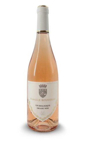 Famille Rousselle Rose vin bio
