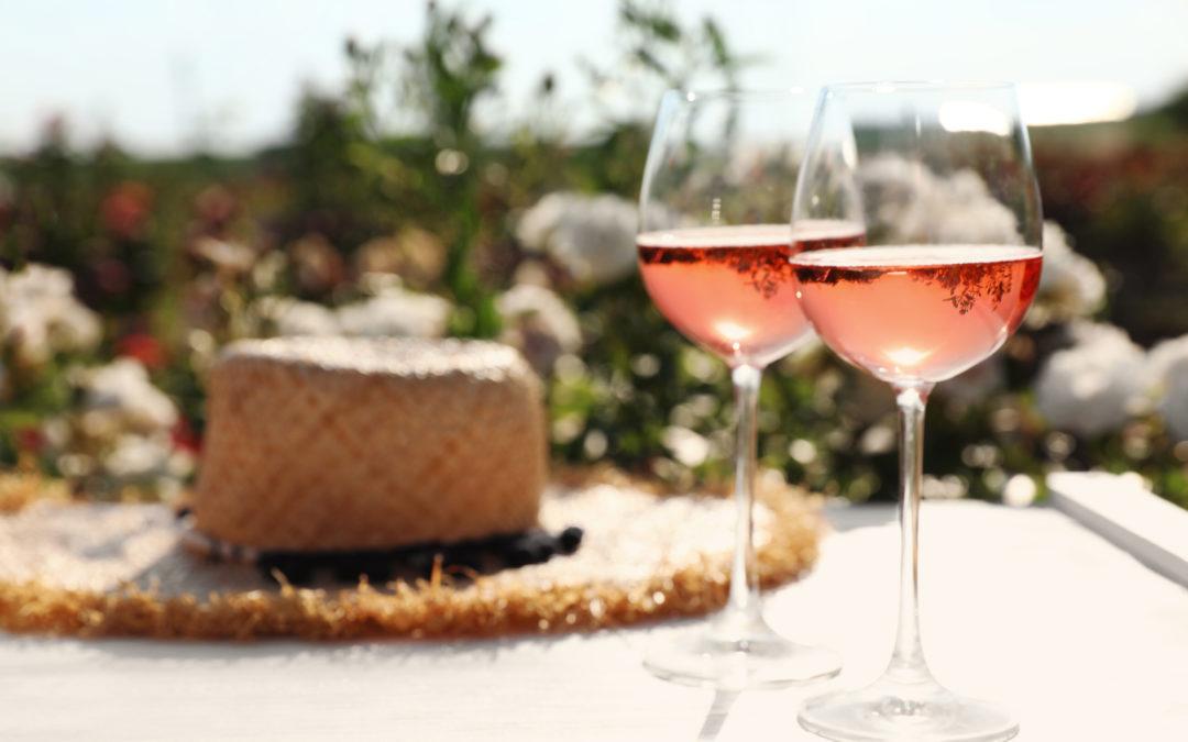 Sélection de vin rosé (de Provence et du Rhône)