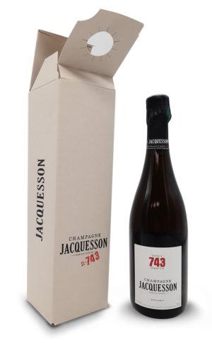 Champagne Jacquesson n°743 coffret